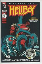 Hellboy Seed of Destruction 2- NM- (9.4)  1st appearance of Abe Sapien
