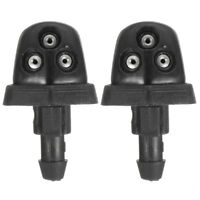 2Pcs Windshield Wiper Water Jet Nozzle For Suzuki Swift Alto SX4 Plastic Top