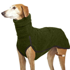 Pet Dog Greyhound Winter High Collar Jumper / Vest Coat / Solid Hoody Apparel