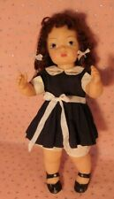 "VINTAGE 16"" A/O TERRI LEE DOLL  W/ TAGGED OUTFIT! DOTTY EYE 1957"