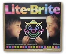 Lite Brite Set Classic Original Hasbro Toy 156 Pegs Storage Tray Templates