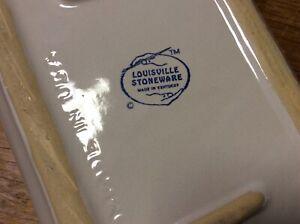 Louisville Stoneware Pottery Cornflower Bachelor Button Blue Set of 4 Pieces