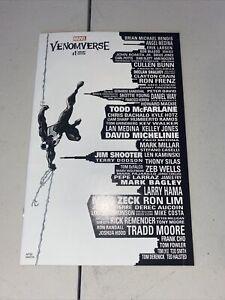 VENOMVERSE #1 MARK BAGLEY NYCC SKYLINE VARIANT SPIDER-MAN CARNAGE GWEN KNULL