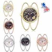 Fashion Stainless Steel Brushed Quartz Bracelet Wrist Women's Watch Ladies Gifts