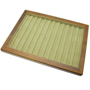 Toyooka Craft Wooden Tray for Fountain Pen Chest for 12 Slot Japan with Tracking
