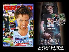 Bravo Magazine Issue 8 - Robert Pattinson + Bonus Huge Twilight Poster