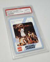 1989 North Carolina #15 Michael Jordan Collegiate Collection PSA 9 Mint