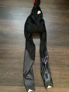 Castelli LW Bib Thights Shorts X2 Black Fleece Roubaix Thermal