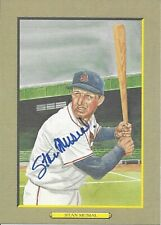 Perez Steele Great Moments #11 Stan Musial Autographed