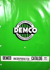 DEMCO Oilfield Product Catalog ASBESTOS Gasket Centrifugal Separator 1966