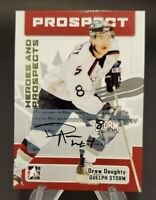 2006-07 ITG Heroes and Prospects Autographs #A-DDO Drew Doughty