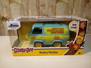 Modellino Die Cast Auto Film Jada Mystery Machine Scooby-Doo! 1/32 Nuovo