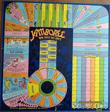 1936 Jamboree Game Board, Parts & Instructions Selchow & Righter Sky's the Limit