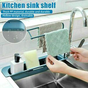 Küche Racks Sink Spül Organizer Lagerung Waschbecken Utensilien Schwamm Halter