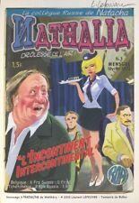 Ex-libris Offset Natacha Hommage à Natacha de Walthéry