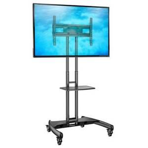 Standfuß mobil fahrbar TV Ständer Trolley 32-70 Zoll Kamera/AV-Ablagen AVA1500B