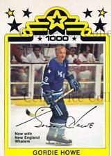 1977-78 O-Pee-Chee WHA #1 Gordie Howe