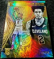 COLLIN SEXTON 18-19 CHRONICLES ESSENTIALS GOLD PRIZM PARALLEL ROOKIE RC SSP 8/10