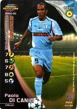 FOOTBALL CHAMPIONS 2004-05 Paolo Di Canio 071/150 Lazio ITA WIZARD FOIL