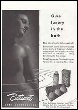 1946 Topless  Bathasweet Original French Advert print ad - Z1