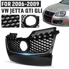 Gloss Black Front Center Grille Grill Trim For VW Jetta MK5 GTI GLI 06-09 2008