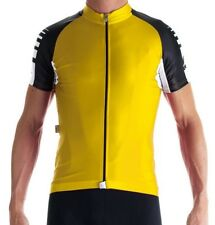 BRAND NEW ASSOS SS.UNO JERSEY YELLOW SHORT SLEEVE SIZE XS RRP £104.99