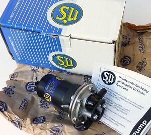 SU (Genuine Burlen) 12V Fuel Pump for Mini Austin Healey Sprite & Midget AUF214