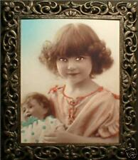 """Haunted Spooky Photo """"Eyes Follow You"""" Girl and Doll"""