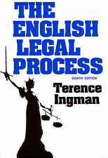 The English Legal Process 8th Edition -Terence Ingman