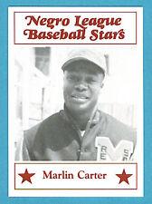 Fritsch Negro League Baseball Stars Singles: #50 Marlin Carter