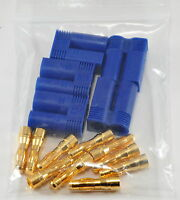 5 Pack - 5 Male EC5 / Losi Style Bullet Connector Plugs