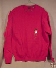 New-Arrow-Dark Red-Cotton Golf Sweater-Size Large-Save!