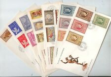 Greece. Greek 7 FDC's, 5 Complete Sets Year 1961, Minoan Art - Democritus Center