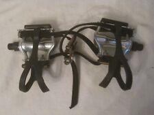 pre-owned VP-386 bike pedals bicycle pedal pair aluminum die cast VP ONE
