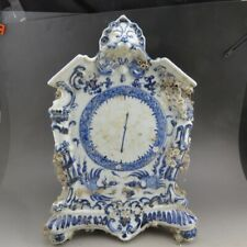 Chinese porcelain,blue and white porcelain,haidilao,chan zhi wen,clock,statue Q0