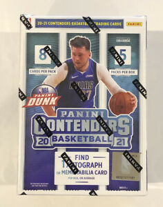2020-21 NBA Panini Contenders Basketball FACTORY SEALED BLASTER BOX, SHIPS BOXED