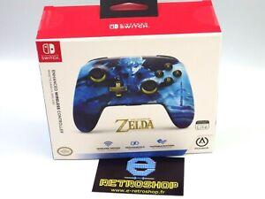 Switch- Manette sans fil - ZELDA Link Blue sous licence officielle pour Nintendo