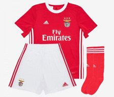 NEW SLB Sport Lisboa e Benfica - Portugal 2019/2020 Home Kids Kit Red