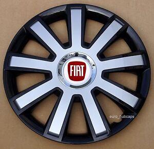 "4x16"" wheel trims, Hub Caps,Covers to fit Fiat Punto,Doblo MK3,Scudo(NOT DUCATO)"