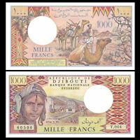Djibouti 1000 Francs, 1979-88, P-37, UNC