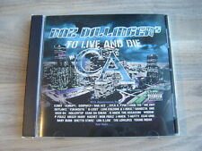 hiphop rap CD gangsta DAZ DILLINGER the dogg pound To Live And Die In CA MC EIHT