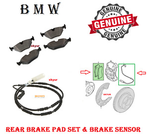 Rear Brake Pads for BMW 3 SERIES E36 1990-2002 Z3 Z1 all models excl M