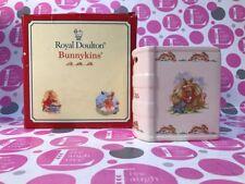 ROYAL DOULTON ~ BUNNYKINS BOOK BANK ~ PETER RABBIT THEME ~ NEW IN BOX