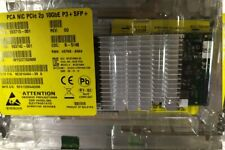 593742-001 HP NC523SFP Dual Port 10GB Server Adapter NEW + both brackets LP FH