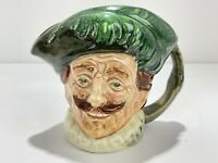 "Royal Doulton Character Mug Jug Small ""The Cavalier"" w/ A Backstamp RARE! 3-1/4"""