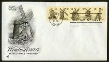 #1742b 15c Windmills, Art Craft FDC **ANY 4=FREE SHIPPING**