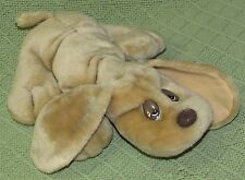 "1985 Lonely Puppies For Adoption Plush DOG JRL Stuffed 10"" Beige Light Brown"