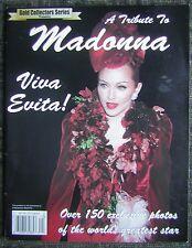 """1996 """"A Tribute To Madonna - Viva Evita!"""" Picture Book & Magazine"""