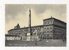 Roma Palazzo del Quirinale Postcard Italy 560a