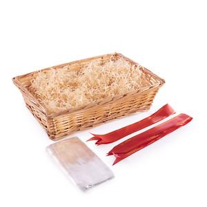 DIY Gift Hamper Wicker Basket Gift Boxes for Presents DIY Basket Box Pukkr